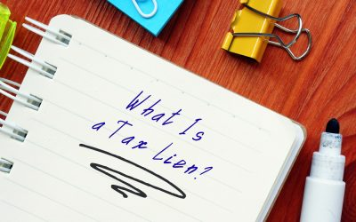 Federal Tax Liens and What West Columbia Owers Can Do About Them